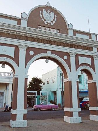 Arc in Cienfuegos