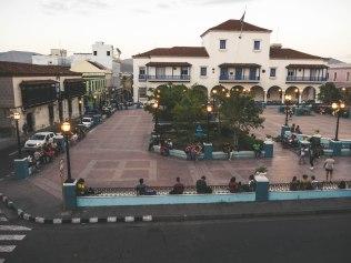 Parque Cespedes in Santiago de Cuba
