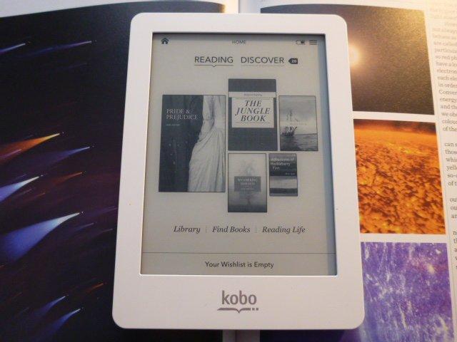 REVIEWED: Kobo Glo illuminated e-reader - Travgear com