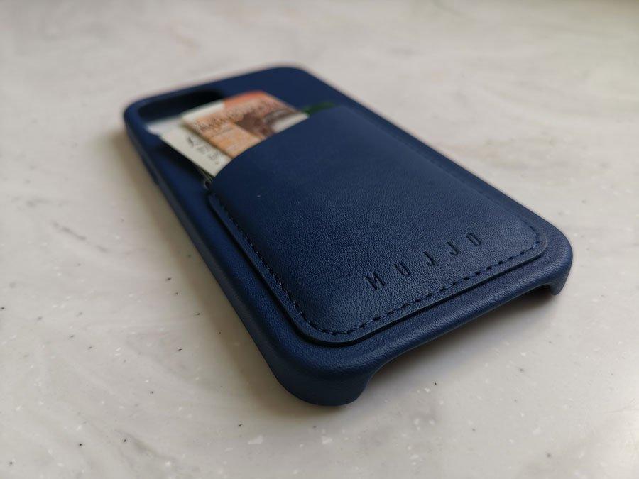 Mujjo wallet case