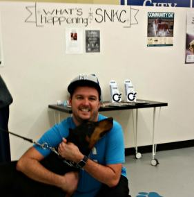 Travis Pflanz, volunteer at Spay & Neuter KC Food Pantry