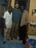 While passing through Nairobi on my way to and from the retreat, I was able to spend a fun evening with my two good friends Murithi and Mwenda, both of whom I grew up with as a child in Kenya.