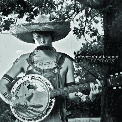 cover,art, Never Shout Never,album,Harmony