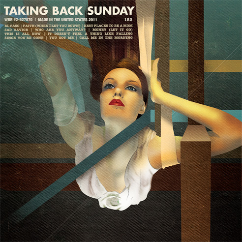 Taking Back Sunday self-titled album art work