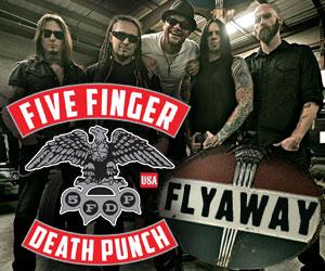 Win A Five Finger Death Punch Flyaway