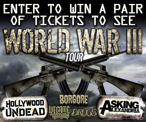 Win - Hollywood Undead / Asking Alexandria Tickets
