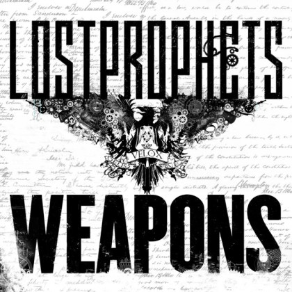 Lostprophets 'Weapons' Cover Artwork