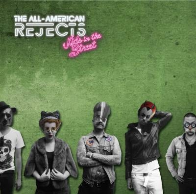 The All-American Rejects 'Kids In The Street' Album Cover Artwork