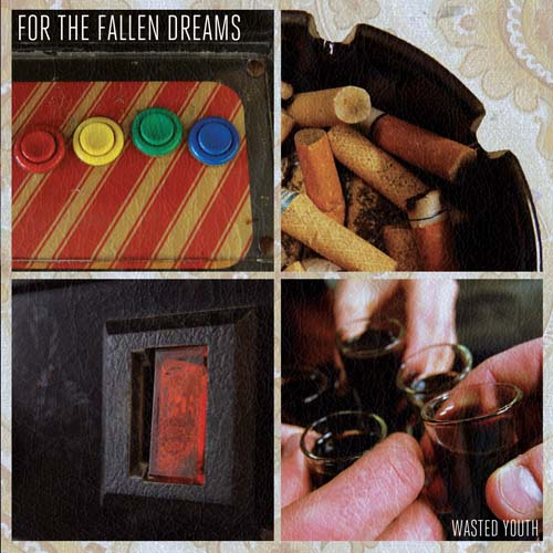 For The Fallen Dreams 'Wasted Youth' Cover Album Artwork