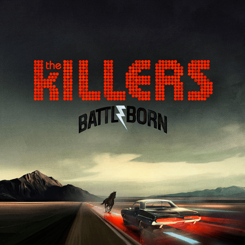 The Killers 'Battle Born' Album Cover Artwork
