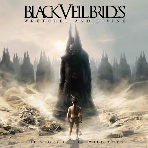 Black Veil Brides Wretched and Divine The Story Of The Wild Ones Cover Artwork