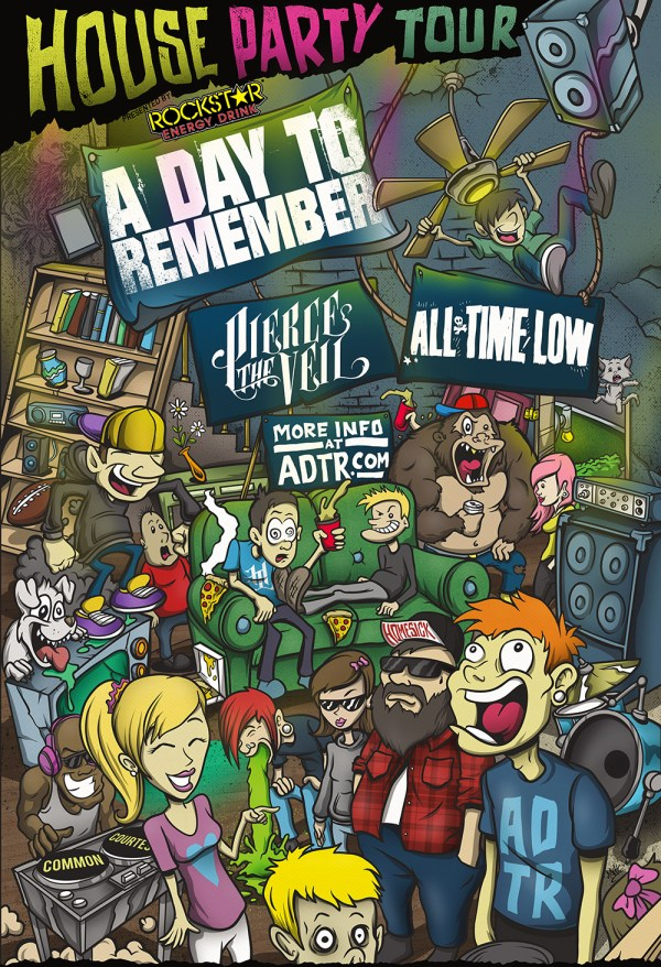 A Day To Remember Announce Tour With Pierce The Veil And All Time Low