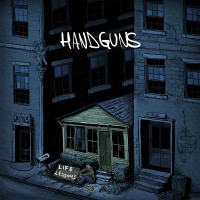 Handguns 'Life Lessons' Cover Artwork