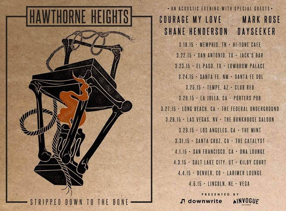 Hawthorne Heights Announce Acoustic Tour