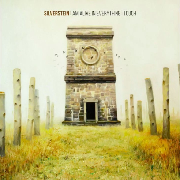 Silverstein 'I Am Alive In Everything I Touch' Album Cover Artwork