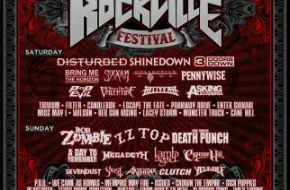 Disturbed, Rob Zombie, Five Finger Death Punch, Shinedown Lead 2016 Welcome to Rockville And Fort Rock Festivals