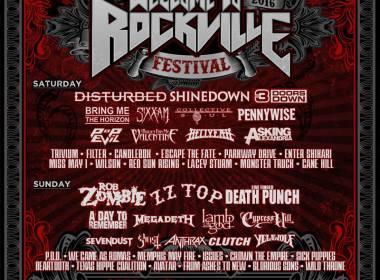 Monster Energy Welcome to Rockville Festival 2016