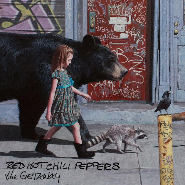 Red Hot Chili Peppers The Getaway Album Artwork