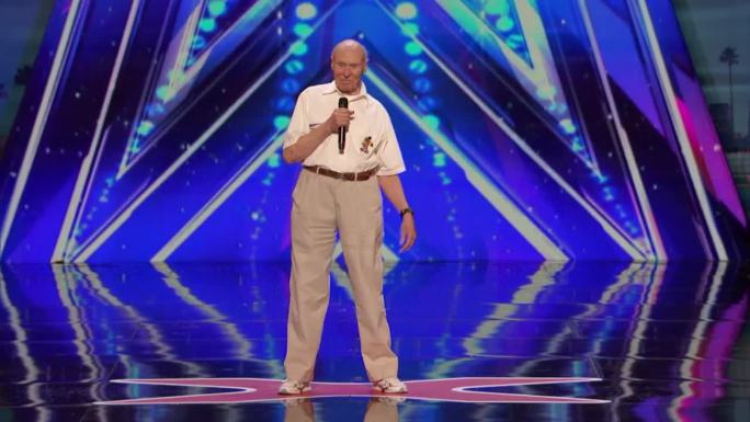 """82-Year-Old 'America's Got Talent' Contestant Rocks Drowning Pool's """"Bodies"""""""