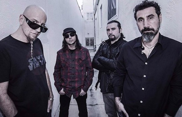 System Of A Down Tease Plans With Rehearsal Photos