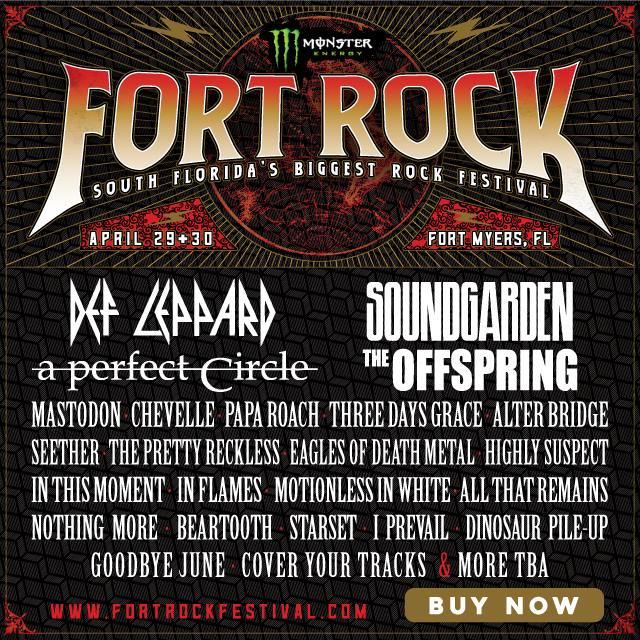 2017 Carolina Rebellion, Welcome To Rockville And Fort Rock Festival Lineups Announced