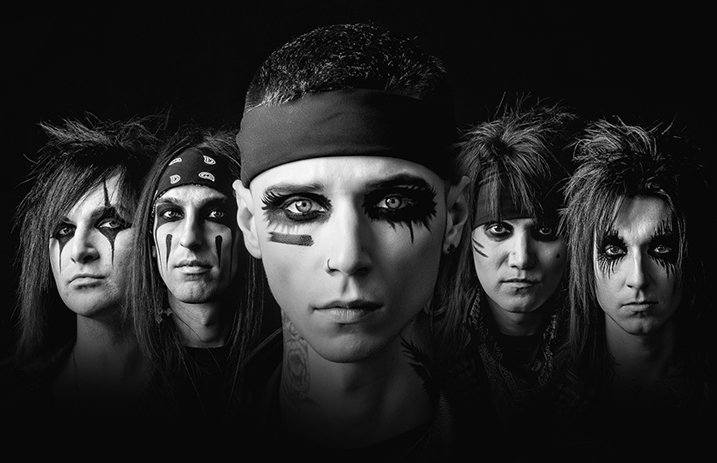 "Black Veil Brides Stream New Song ""The Outsider"""