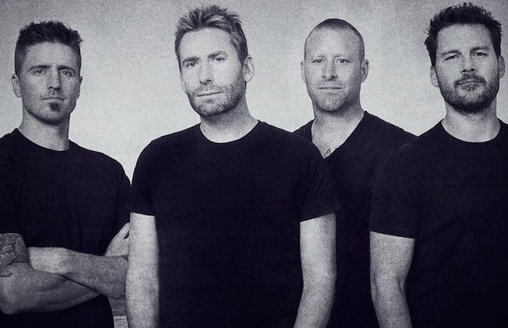 "Nickelback Release New Song ""Song on Fire"""