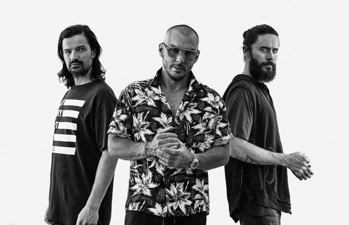 "Thirty Seconds To Mars Release New Song ""Walk On Water"""