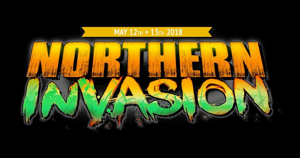 Lineup Announced For 2018 Northern Invasion