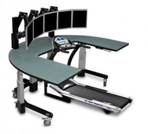 New study: Walking desks superior to sitting for mental, physical health, work productivity
