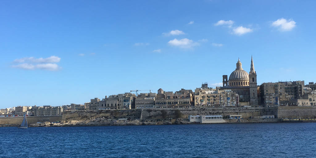 view of architecture of fortified valetta suggesting latent story