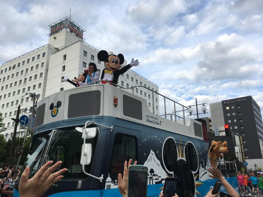 Mickey Mouse Parade in Akita