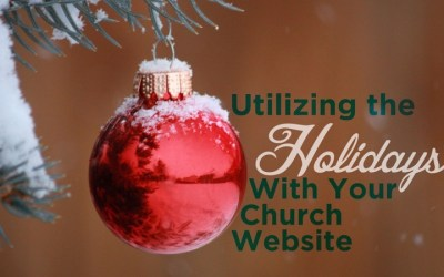 Utilizing Events and Holidays With Your Church Website