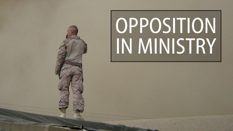 Opposition in ministry