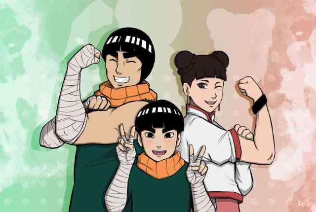 Metal Lee Rock lee tenten 750x504 - Yuk Kenalan sama 11 Karakter Ninja Baru ini di Generasi Ninja selanjutnya Boruto