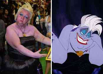 Ursula The Little Mermaid - GIla, Cosplay emak-emak ini gak kalah sama cosplayer professional