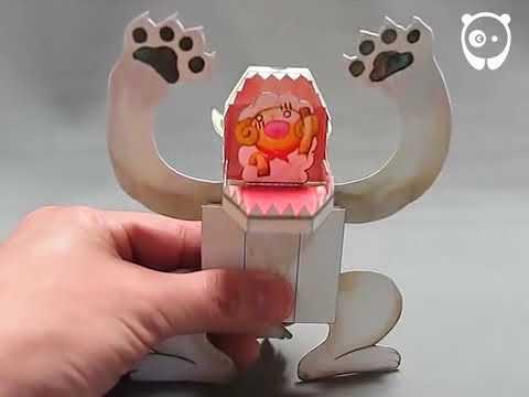 Japanese Paper Toys With A Surprise Bored Panda - Video : Gila, origami ini bisa bergerak dan berubah bentuk