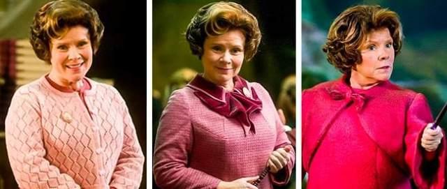 pakaian dolores umbridge - Jangan ngaku penggemar Harry Potter jika kalian gak menyadari hal-hal unik dan janggal ini ada di dalam film Harry Potter