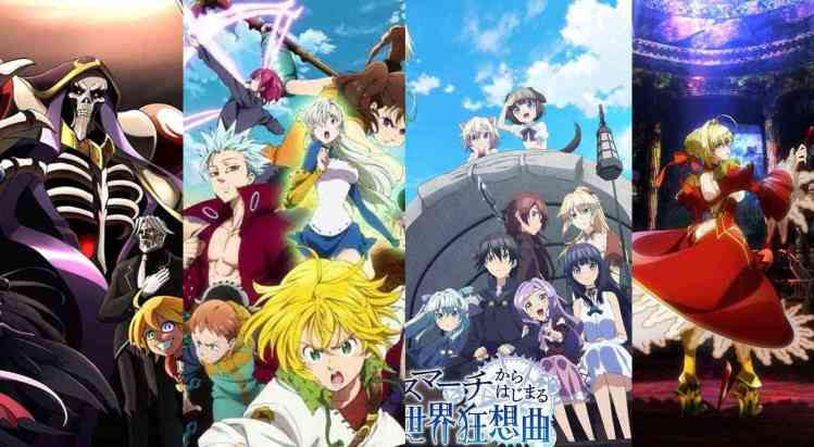 List anime seri winter musim dingin dimulai dari januari 2018 oeverlord season 2 fate extra - Anime seri Musim dingin (Winter) yang Bakal Tayang Mulai Januari 2018
