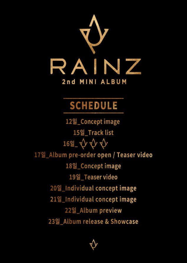 jadwal comeback rainz - Rainz Umumkan Jadwal Comeback di bulan January 2018