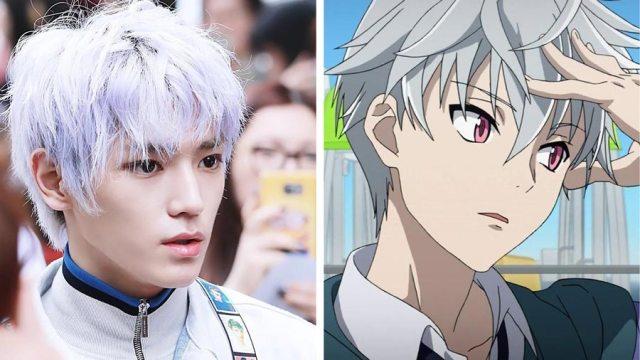 Taeyong NCT mirip dengan Akise Aru dari anime Future Diary - Wow, Para Idol K-Pop ini Mirip Banget Dengan Karakter Anime