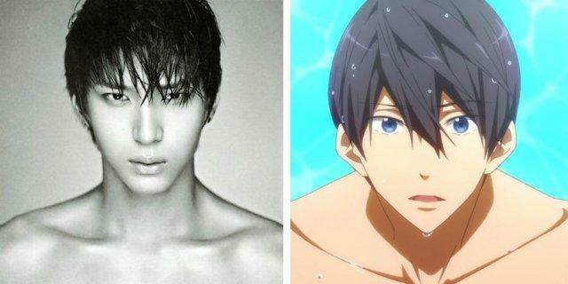 leo mirip dengan haruka nanase - Wow, Para Idol K-Pop ini Mirip Banget Dengan Karakter Anime
