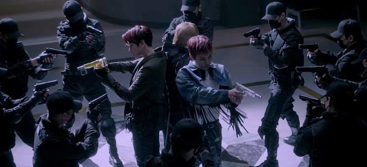 lirik lagu exo love shot hangul latin english terjemahan