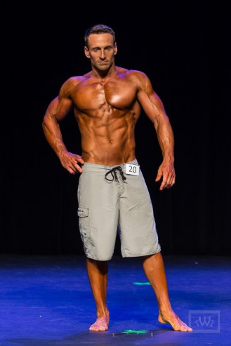 Physique Bodybuilder On Stage