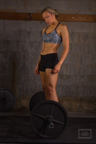Female Athlete Weightlifting