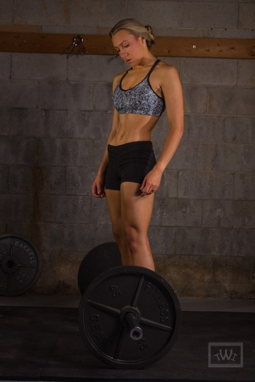 Female Athlete Weightlifting