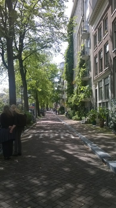the shades and that intimate scale of #Amsterdam. | Aug.24