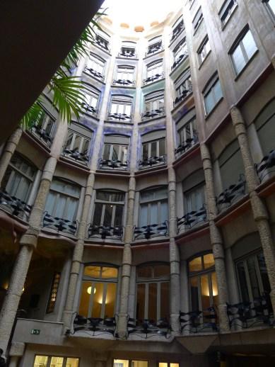 1st stop. La Pedrera. Antoni Gaudi.