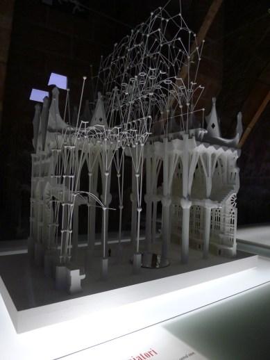 structure model: La Sagrada Familia