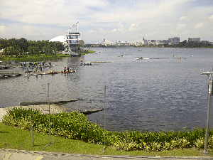 View of a sports complex